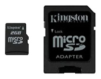 Micro SD (Trans flash) 2GB Kingston